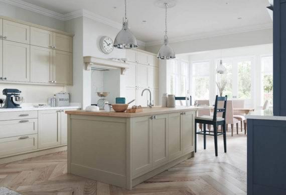 kitchen design blue